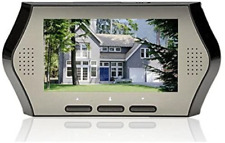 BW 4.3 Inch LCD Digital Peephole Door Camera Viewer Smart Monitor with Motion