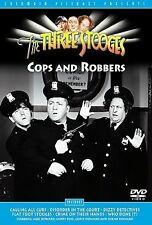 THREE STOOGES COPS AND ROBBERS (DVD, 2002)