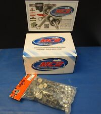 """WOODY'S 96 PACK SIGNATURE SERIES STAINLESS STEEL STUDS- 1.325"""" W 1/2 NUTS"""