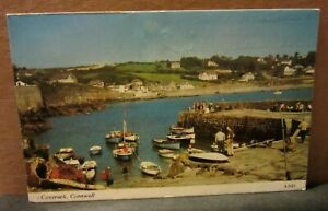 COVERACK. CORNWALL  used postcard by Harvey Barton  1996 pm