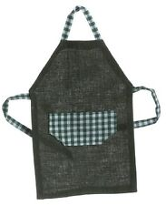 Dollhouse Miniature Men's Apron in Green by Falcon Miniatures
