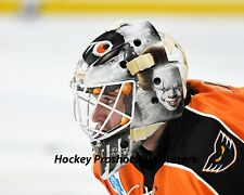 Alex Lyon Philadelphia Flyers Lehigh Valley IT mask 8 x 10