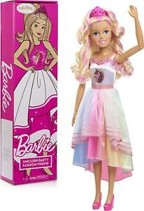 Barbie Best Fashion Friend Unicorn Power Doll Blonde Hair 28-Inch Brand New Toy