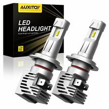 AUXITO H7 24000LM Canbus LED Headlight Kit Hi Low Beam SMD Bulb 6500K High Power