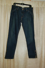 Levis skinny 503 woman`s jeans 99% cotton 1% spandex , zippers on bottom legs