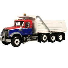 1:34 First Gear *MACK GRANITE* Red White & Blue DUMP TRUCK *BRAND NEW IN BOX*