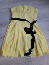 Abendkleid - Damen - neu - gelb