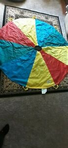 Pacific play tents 6' parachute, and out door toy, exercise