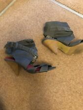 Fiore Sandal Boots Grey Size 3