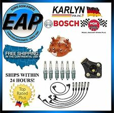 For 190E 300SE 300SEL 300TE Ignition Wire Spark Plug Distributor Cap Rotor KIT