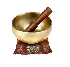 Indian Art Tibetan Handmade Singing Bowls for Meditation And Healing Through ...