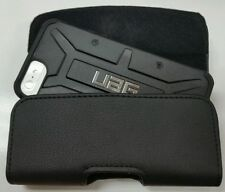 FOR iPHONE 7 XL BELT CLIP LEATHER HOLSTER POUCH FITS A UAG HYBRID CASE