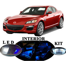 LED Package - Interior + License Plate Mazda for RX-8  (11 pieces)