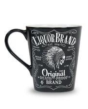 Liquor brand mug Firewater Indian Cheif Skull Coffee mug