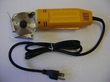 """Nmd 2-3/4"""" Round Blade Octagonal Knife Fabric Cloth Cutting Machine 150W 110 V"""