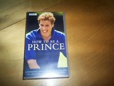 VHS pal video prince william how to be a princel