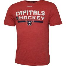 Washington Capitals T-Shirt NHL Eishockey  Reebok T-Shirt Large rot