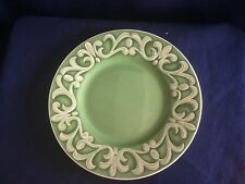 "Villeroy & Boch /Gallo Switch Summerhouse 8 1/2"" accent dessert plate (scratches"