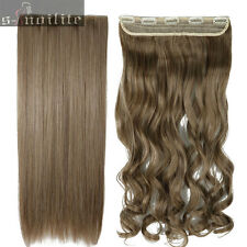 Remy Extra Thick Clip in Hair Extensions 1Piece Full Head As Remy Human Tape SL6