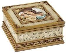 Roman Joseph's Studio Names of Jesus Keepsake Box Angel Baby New Rosary