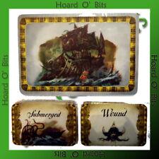 WARHAMMER DREADFLEET BIN BITS - REPLACEMENT CARD SET