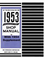 OEM Repair Maintenance Shop Manual Bound for Studebaker All Models 1953-1954