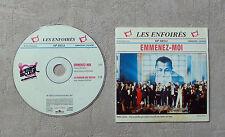 """CD AUDIO MUSIQUE / LES ENFOIRÉS """"EMMENEZ-MOI"""" 2T CD SINGLE  1999 BMG 74321703602"""