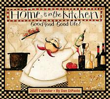 HOME IS IN THE KITCHEN - 2021 DELUXE WALL CALENDAR - BRAND NEW - 857127