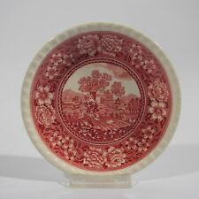 Villeroy & Boch Mettlach Rusticana rot Untertasse Dm 15,2 cm Keramik alte Serie