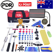 Car PDR Tools Dent Puller Lifter Paintless Hail Removal LED Line Board Repair AU