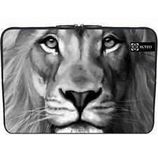 1514 -  funda de neopreno macbook / portatil 15.6 pulgadas - cabeza de leon bl