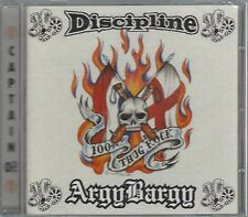 DISCIPLINE / ARGY BARGY - 100% THUG ROCK - (still sealed cd) - AHOY CD 235