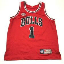 Mitchell & Ness Derrick Rose Chicago Bulls Basketball Jersey Youth Size Large YL