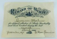 Vintage Reward of Merit 1918 with Jesus with Little Children from Sister Rose