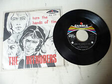 """THE INTRUDERS""""TURN THE HANDS OF TIME-disco 45 giri GAMBLE Italy1969"""" VERY RARE"""