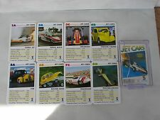 Jet cars playing cards Schmidt Unlimited Paxton Rocket Racing Fire Shock Wave