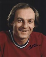 GUY LAFLEUR SIGNED AUTOGRAPH MONTREAL CANADIENS 8X10 PHOTO  PROOF #7