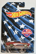 HOT WHEELS STAR & STRIPES 2016 '70 FORD TORINO
