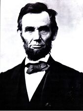 POST CARD OF THE PRESIDENT ARRAHAM LINCOLN NEW POSTCARD OF AN OLD PICTURE