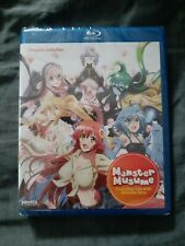 Monster Musume Everyday Life With Monster Girls Complete Series (Blu-ray, Anime)