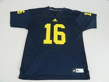 Michigan Wolverines NCAA Adidas Football Jersey #16 Size XL Denard Robinson