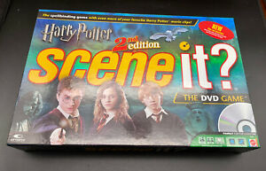 HARRY POTTER Scene it? 2nd Edition The DVD Board Game -100% COMPLETE- 2007