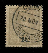 "PORTUGAL "" VILLA DA FEIRA "" Type 2 Circle Date Stamp on Mi.124A 2 1/2R"
