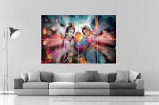 Radha-Krishna les amants Eternels Count of india Wall Poster Grand format A0