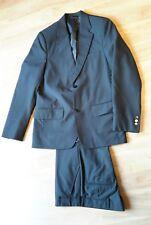 Anzug 2-teilig Sakko + Hose Gr. 146 Lemmi schwarz Konfirmation Hochzeit wie Neu