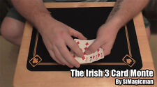 The Irish 3 Card Monte Magic Trick