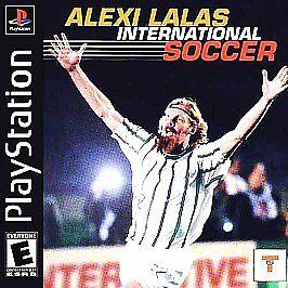 Alexi Lalas International Soccer (Sony PlayStation 1, 1999)