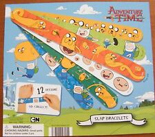 Adventure Time Figure Snap Bracelets / Wristbands Set of 12 different with Finn