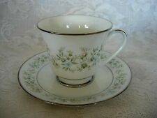 Vintage NORITAKE Savannah #2031 Footed Cup & Saucer - MORE AVAILABLE