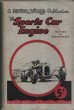Deportes de motor de automóvil en los factores de rendimiento por cálculo 1950 Mundo Motor Pub.